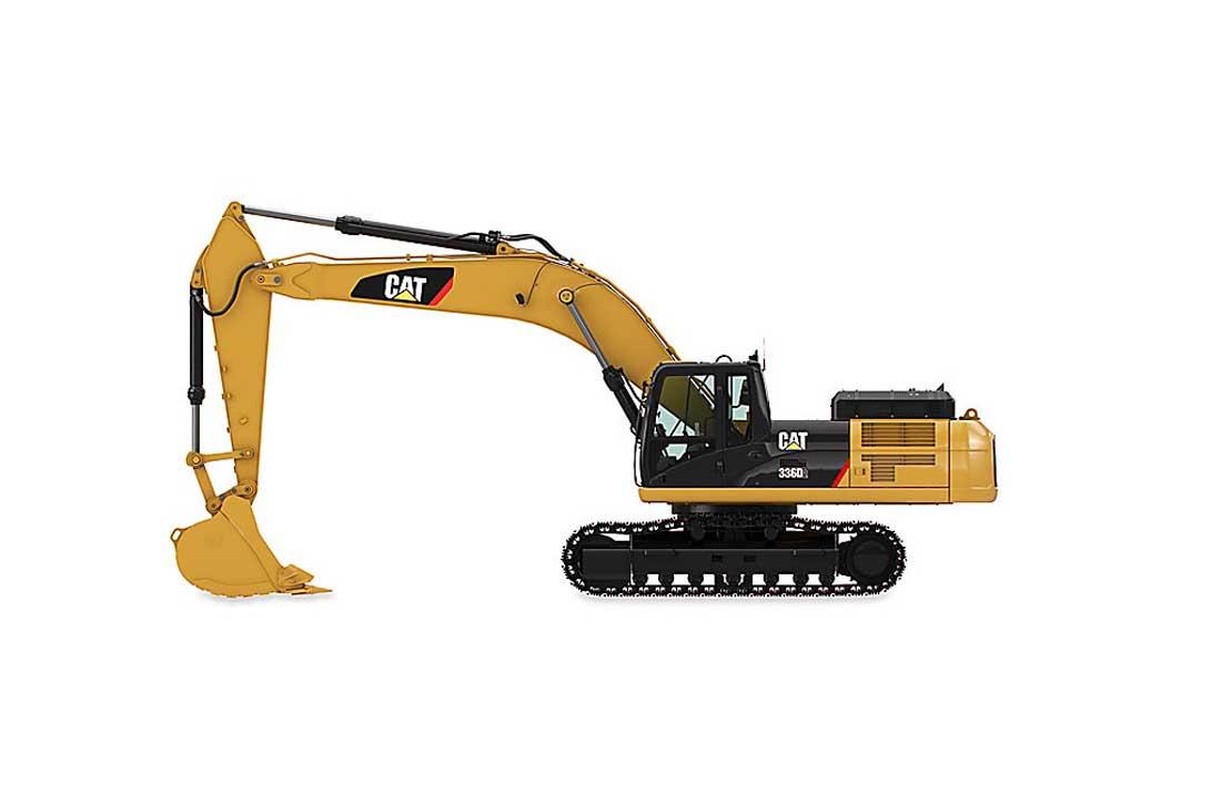 Excavators – Cat – 37 tons 336D2/D2 L