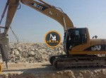Excavator-caterpilar-320-322
