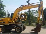 Wheel-Excavator-Jcb-Js130-814